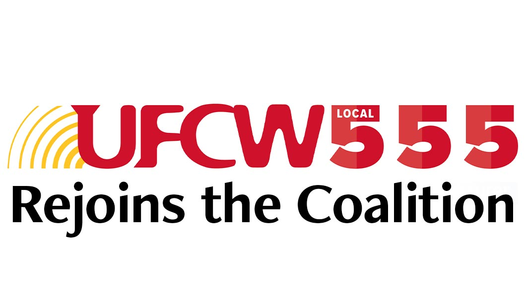 UFCW Local 555 Rejoins Coalition